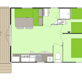 camping-mobil-home-bretagne-3-fleurs-bay-5-personnes-plan