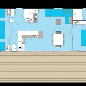 camping-mobil-home-bretagne-4-fleurs-40m2-2-sdb-6-personnes-plan