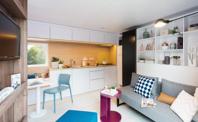 Cottage Premium 4 p intérieur
